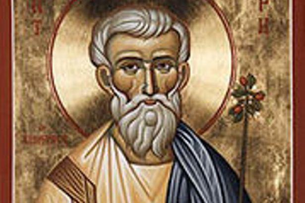 Joseph of Arimathea Christian icon Joseph of Arimathea could be buried in Cardiff