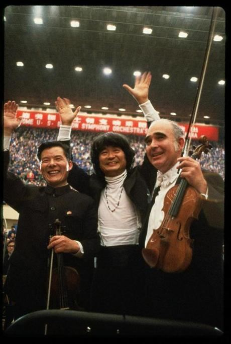 Joseph Silverstein Joseph Silverstein renowned violinist and BSOs concertmaster for