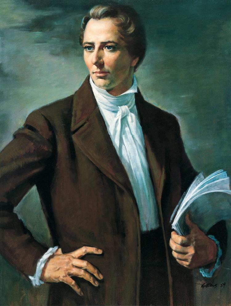 Joseph Smith Joseph Smith First Mormon Prophet Saw God and Jesus in