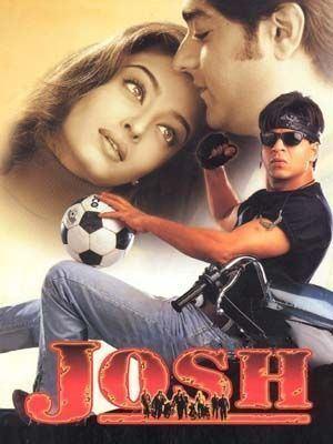 Josh (2000 film) Josh 2000 Shahrukh Khan Hindi Movie Posters Pinterest