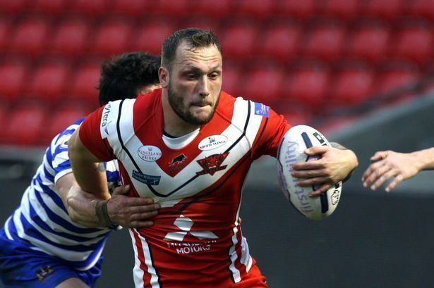 Josh Griffin Salford Red Devils Josh Griffin aims to make up for lost time