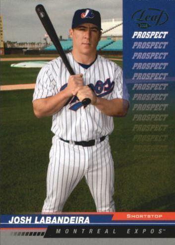 Josh Labandeira Josh Labandeira Baseball Statistics 20002008