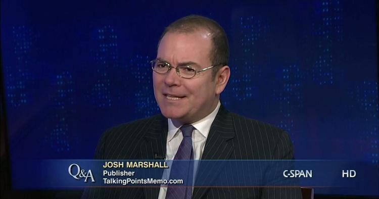 Josh Marshall QA Josh Marshall Jan 12 2012 Video CSPANorg