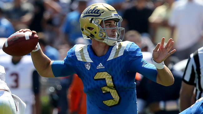 Josh Rosen Josh Rosen39s debut as UCLA quarterback illuminates why he