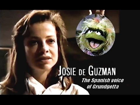 Josie de Guzman Sesame Street Josie De Guzman The Spanish voice of Grundgetta