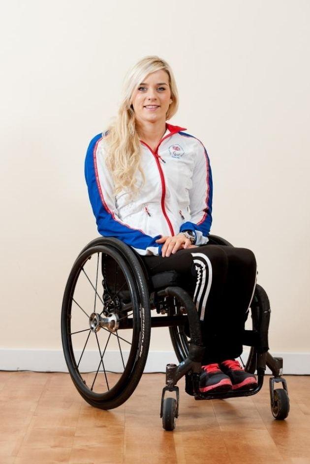 Josie Pearson Hay39s Paralympian golden girl Josie Pearson People