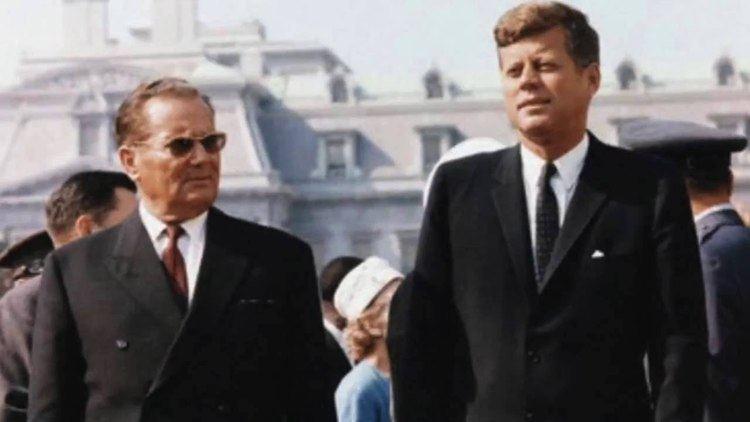Josip Broz Tito Josip Broz Tito of Yugoslavia Still 1 in Balkans YouTube