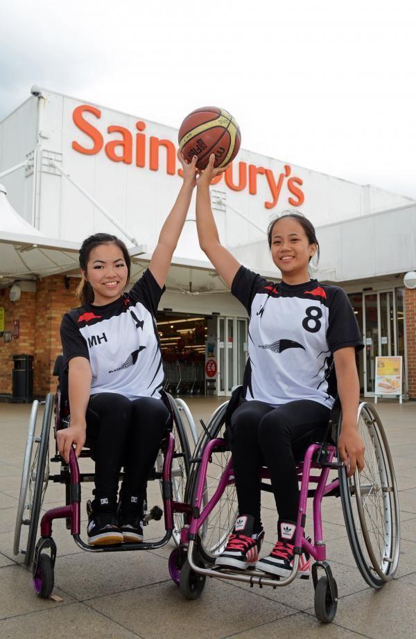 Joy Haizelden Joys raising profile of wheelchair basketball From Daily Echo