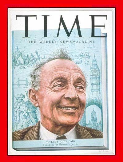 Joyce Cary TIME Magazine Cover Joyce Cary Oct 20 1952 Writers