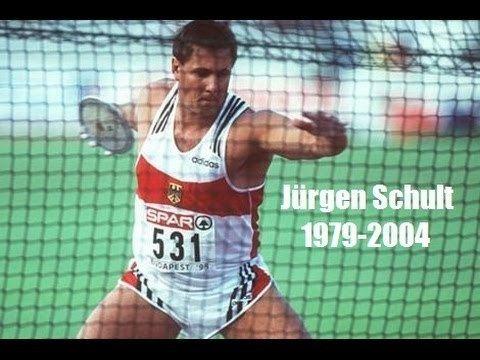 Jürgen Schult Jrgen Schult Discus world record holder YouTube