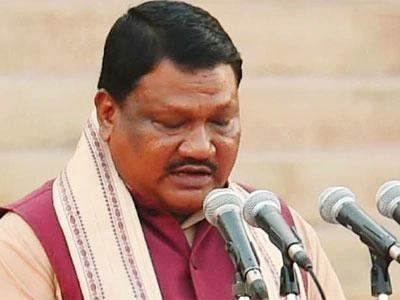Jual Oram Tribal Affairs Minister Jual Oram to use IT to monitor