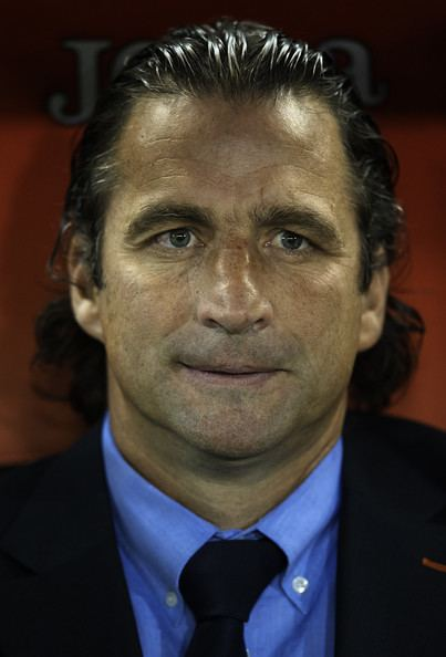 Juan Antonio Pizzi Juan Antonio Pizzi Pictures Valencia CF v Club Atletico