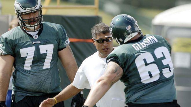 Juan Castillo (American football) Philadelphia Eagles39 Juan Castillo Gets Defense on Track