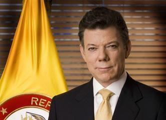 Juan Manuel Santos New president of Colombia Colombia