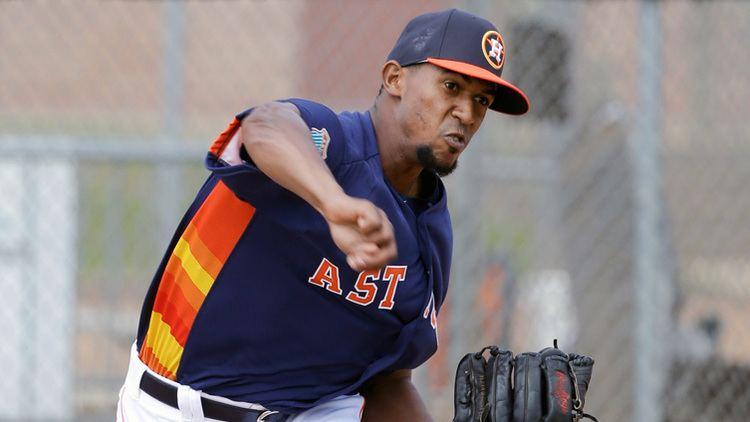 Juan Minaya White Sox claim pitcher Juan Minaya off waivers from Astros CSN