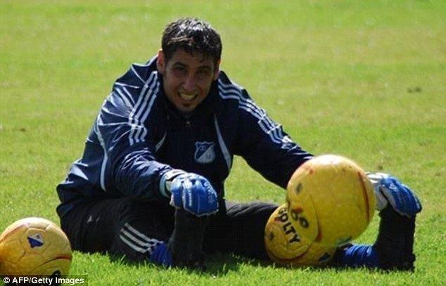 Juan Obelar Uruguayan goalkeeper Juan Obelar loses fourfingers in