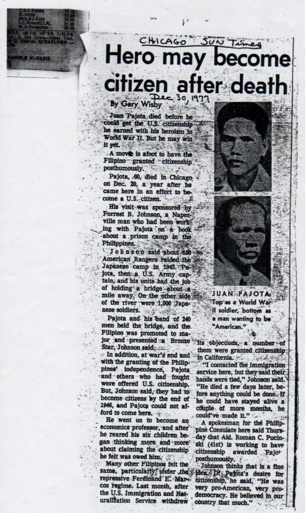 Juan Pajota Captain JUAN PAJOTA pinoyhistory