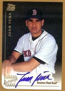 Juan Pena (baseball) wwwbaseballalmanaccomplayerspicsjuanpenaau