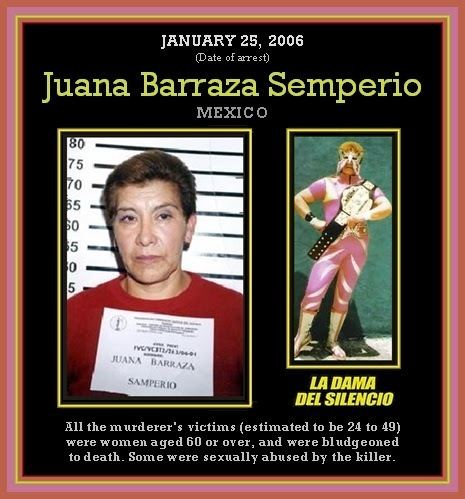 Juana Barraza The Unknown History of MISANDRY Juana Barraza The Old