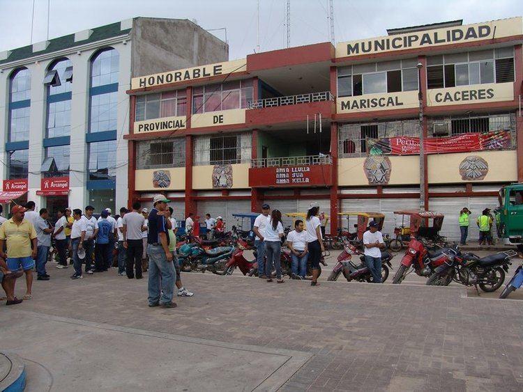 Juanjui in the past, History of Juanjui