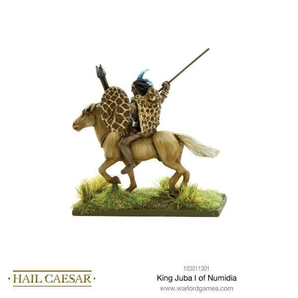 Juba I of Numidia King Juba I of Numidia Warlord Games