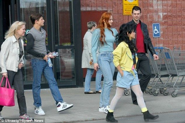 Jubilee (2008 film) movie scenes The crew She was joined by Tye Sheridan Cyclops and Lana Candor