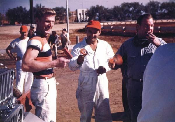Jud Larson Midget Photos Taken at Taft Stadium in