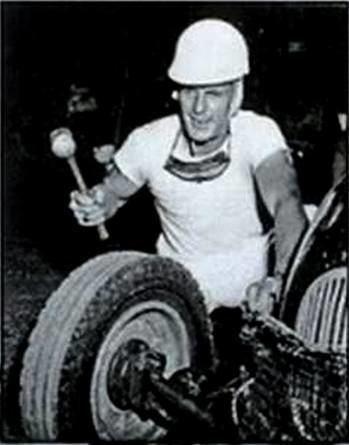 Jud Larson No Mirando A Nuestro Dao Jud LARSON 1923 1966 USA