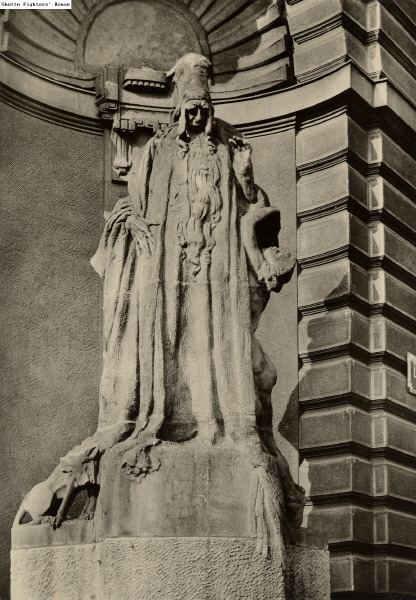 Judah Loew ben Bezalel IDEA ALM A statue dedicated to the revered Rabbi Judah