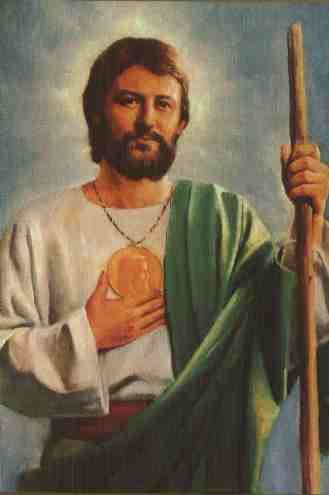 Jude the Apostle The Patron saint of desperate and lost causes St Jude