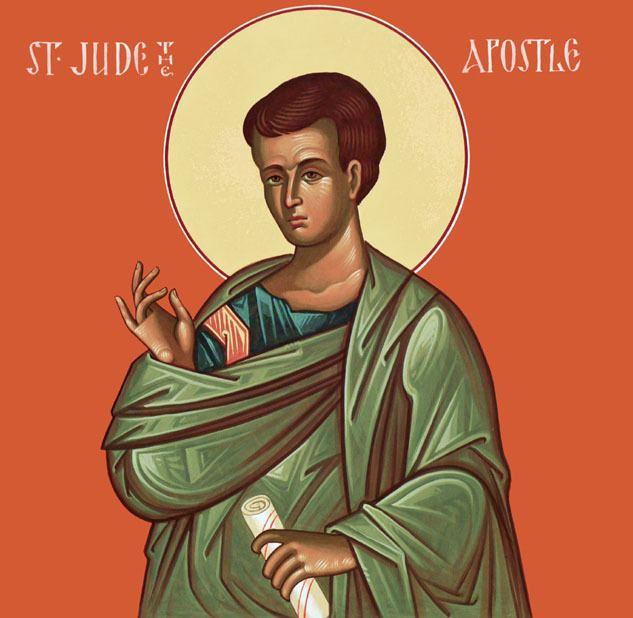 Jude the Apostle Saint Jude Thaddaeus the Apostle St John Orthodox Church