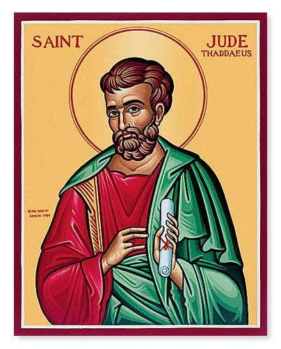 Jude the Apostle Who is Saint Jude