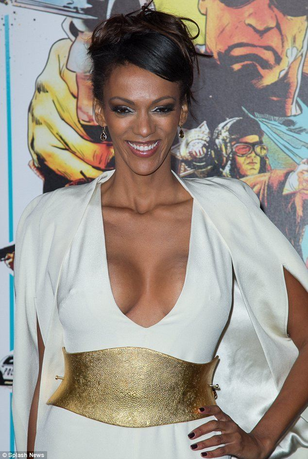 Judi Shekoni Glamorous Judith Shekoni proves that EastEnders is a