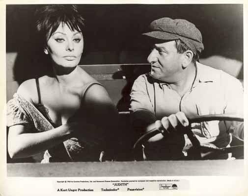 Judith (1966 film) JUDITH 1966 Sophia Loren Rare Original Movie Still 1