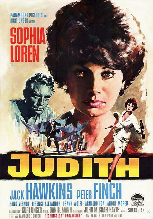 Judith (1966 film) Filmplakat Judith 1966 Plakat 2 von 2 FilmposterArchiv