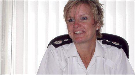 Judith Gillespie BBC NEWS UK Northern Ireland Female PSNI chief