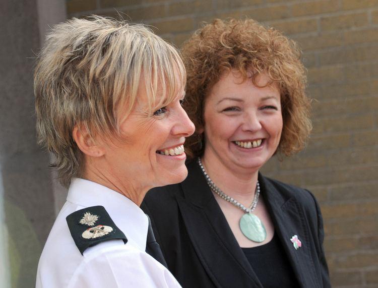 Judith Gillespie PSNI Deputy Chief Constable Judith Gillespie is presented