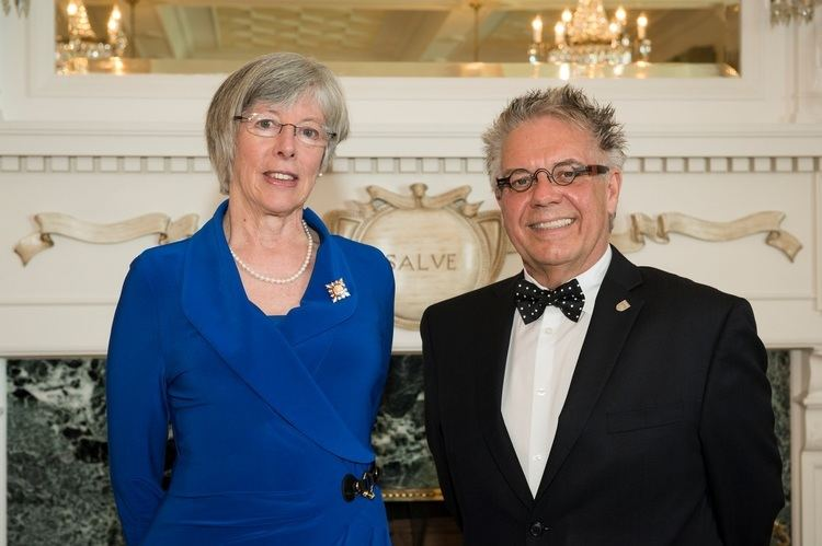 Judith Guichon Greater Victoria Alumni and supporters reception with the