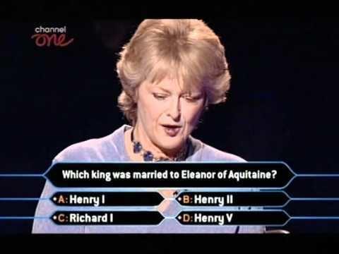 Judith Keppel Judith Keppel plays Millionaire Part 5 YouTube