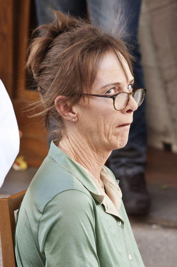 Judy Davis Judy Davis Photos Judy Davis On Set With Woody Allen in