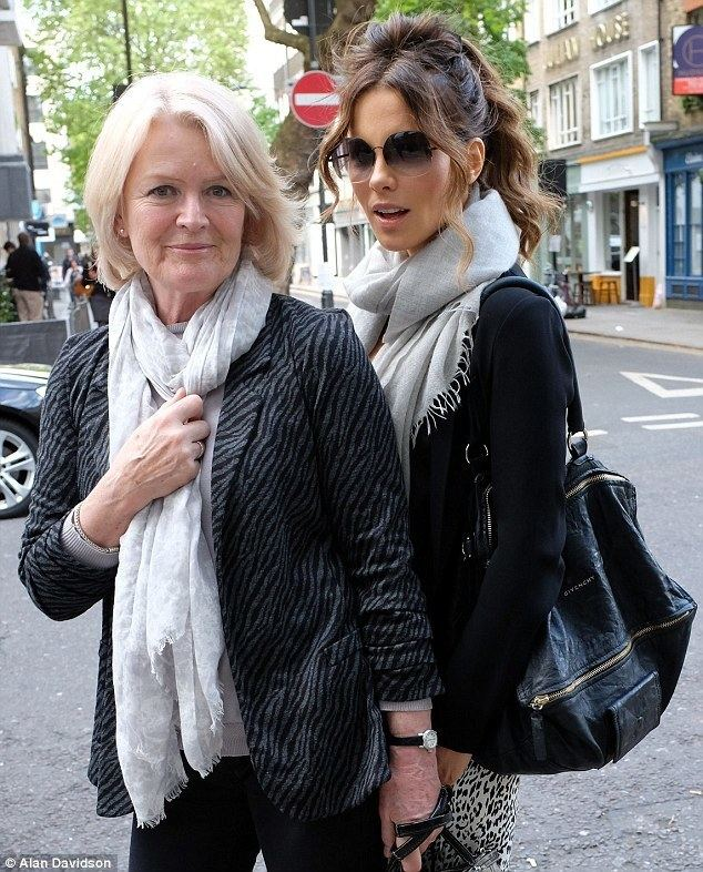 Judy Loe Kate Beckinsale and her mother Judy Loe step out in matching scarves