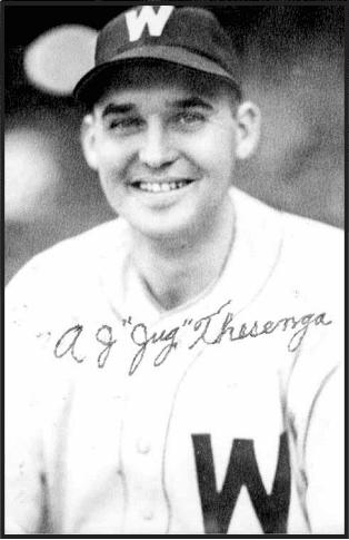 Jug Thesenga Jug Thesenga Society for American Baseball Research