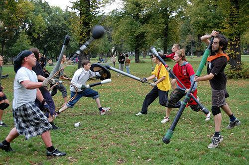 Jugger JUGGER CORNWALL Try play and have fun with this new sport