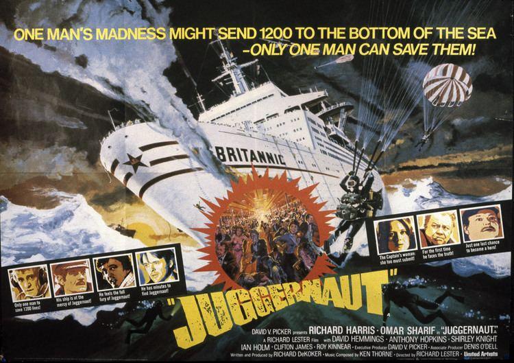 Juggernaut (1974 film) Disaster Film Review and Analysis TOWERING INFERNO 1974