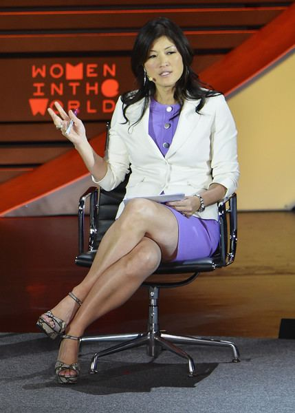 Juju Chang Juju Chang Pictures Women In World Summit Held In New