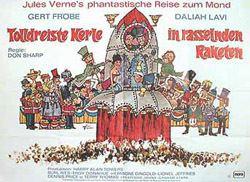 Jules Verne's Rocket to the Moon wwwkinoartnet Original Kinoplakate Vintage Filmplakate