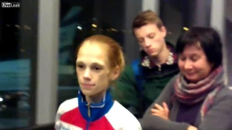 Julia Antipova 24kg skating champion Julia Antipova almost doubled weight in Israel