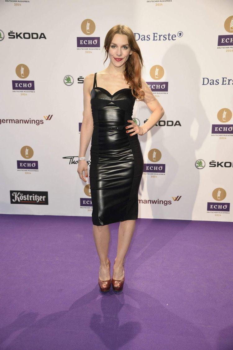 Julia Dietze JULIA DIETZE at 2014 Echo Music Awards in Berlin
