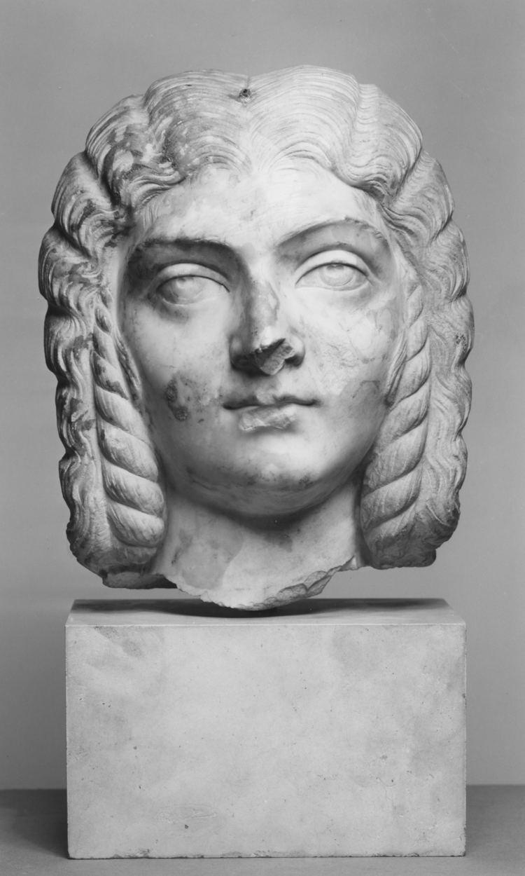 Julia Domna JULIA DOMNA 215AD Silver Ancient Roman Coin Luna driving
