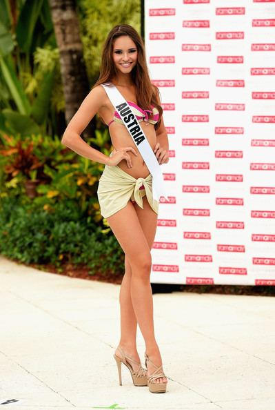 Julia Furdea Julia Furdea Photos Miss Universe Swimsuit Runway Show